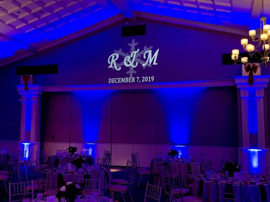 Monogram and Up Lighting