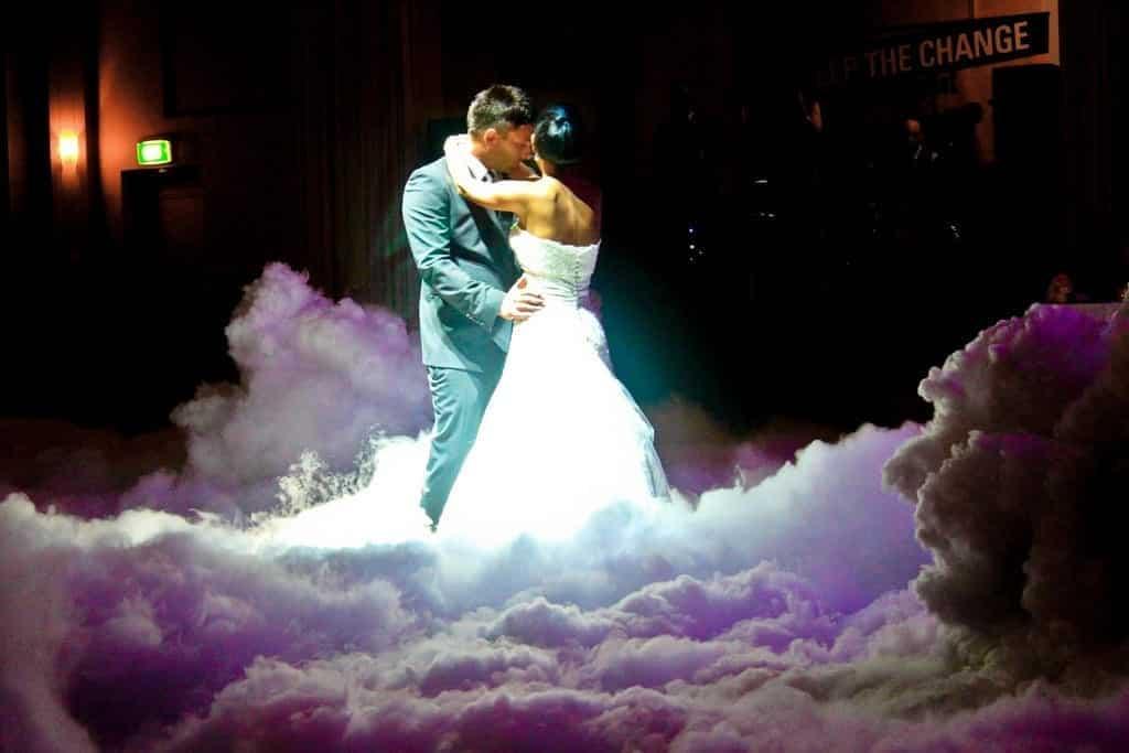 Dancing On The Cloud Wedding