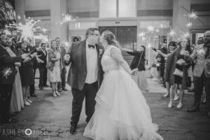 Elizabeth & Justin's Wedding Sparkler